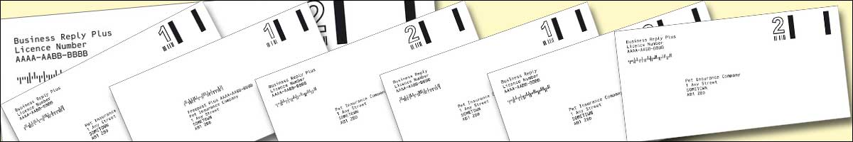 Printers of Royal Mail Business Reply Envelopes and Royal Mail Freepost Envelopes